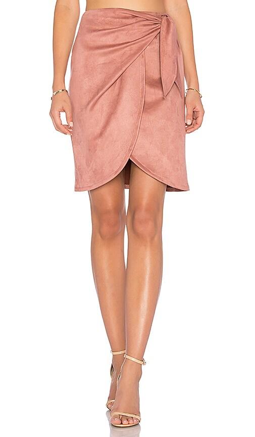 Donna Mizani Leona Skirt in Rose