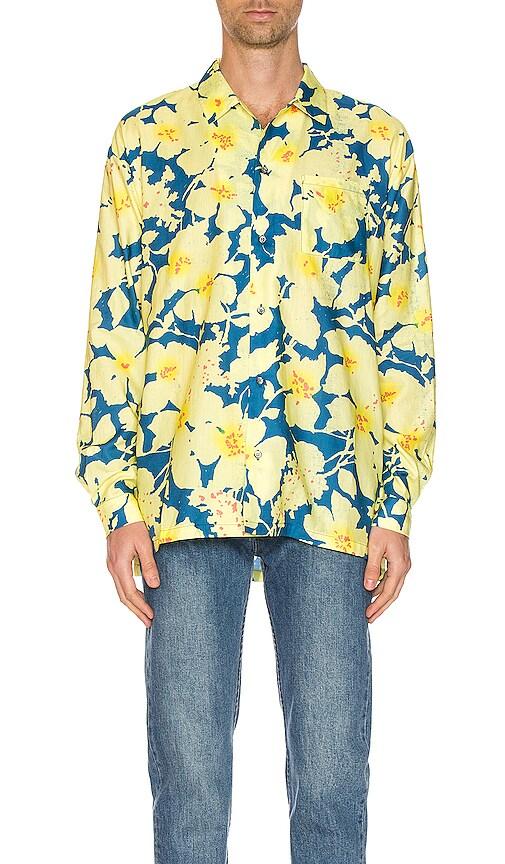 Long Sleeve Hawaiian Shirt