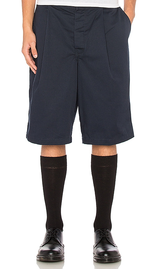 Uniform Pleated Shorts