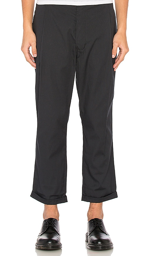 Dickies x Palmer Trading Company Uniform Pleated Chinos in Black