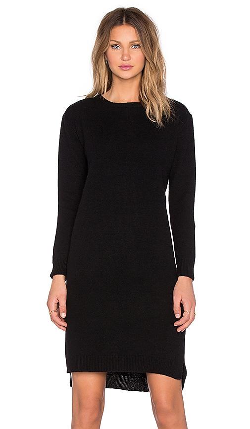d.RA Travis Sweater Dress in Black