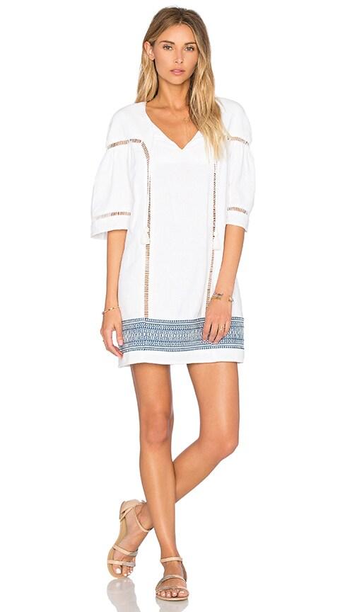 d.RA Nathalie Dress in White