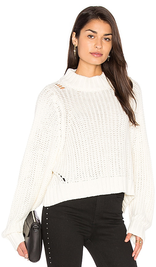 d.RA Eve Sweater in White