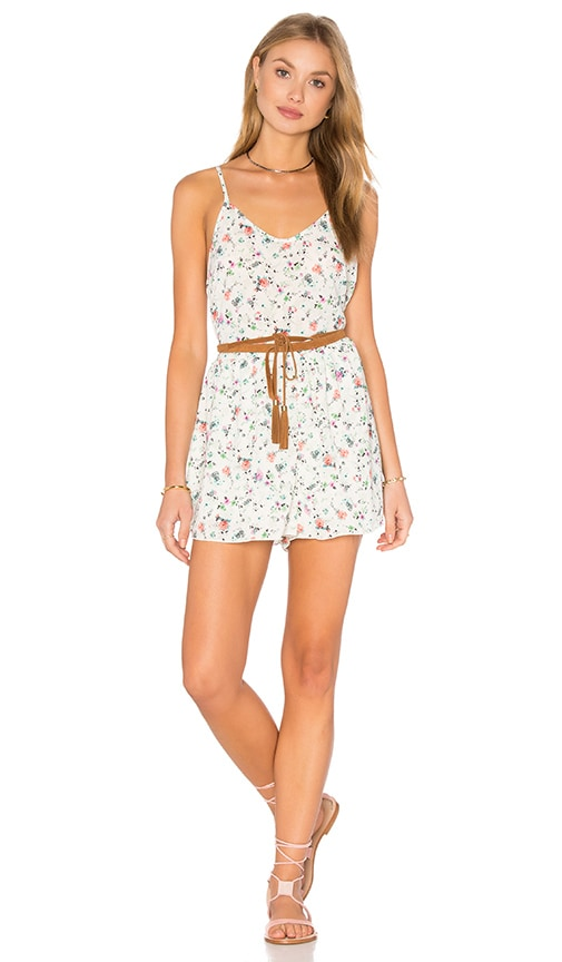 d.RA Calvin Romper in White