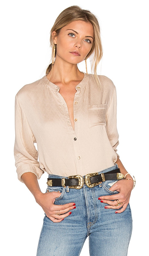d.RA Adelaide Top in Beige