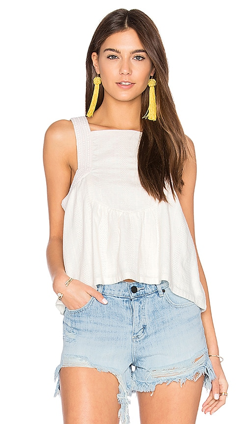 d.RA Kelsey Top in White
