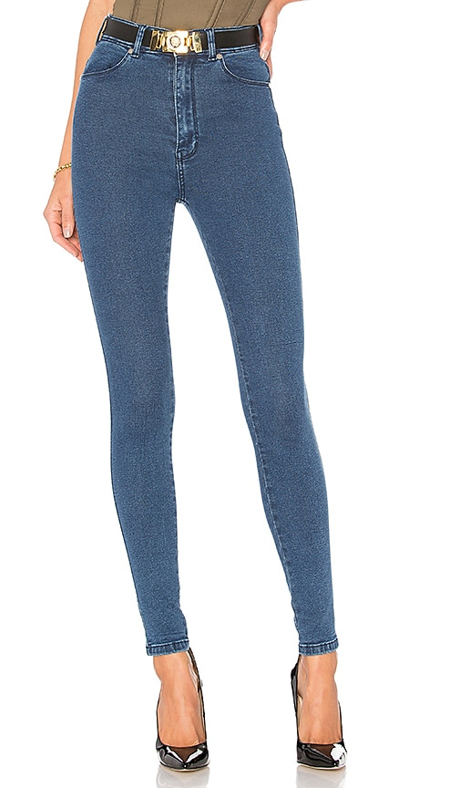 Dr. Denim Moxy Jean in Pure Dark Blue