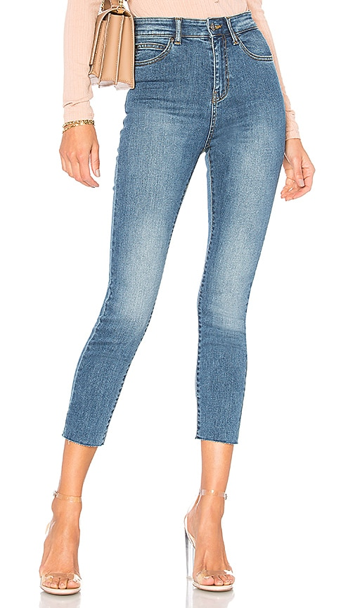 Dr. Denim Cropa Cabana Jean in Worn Mid Blue