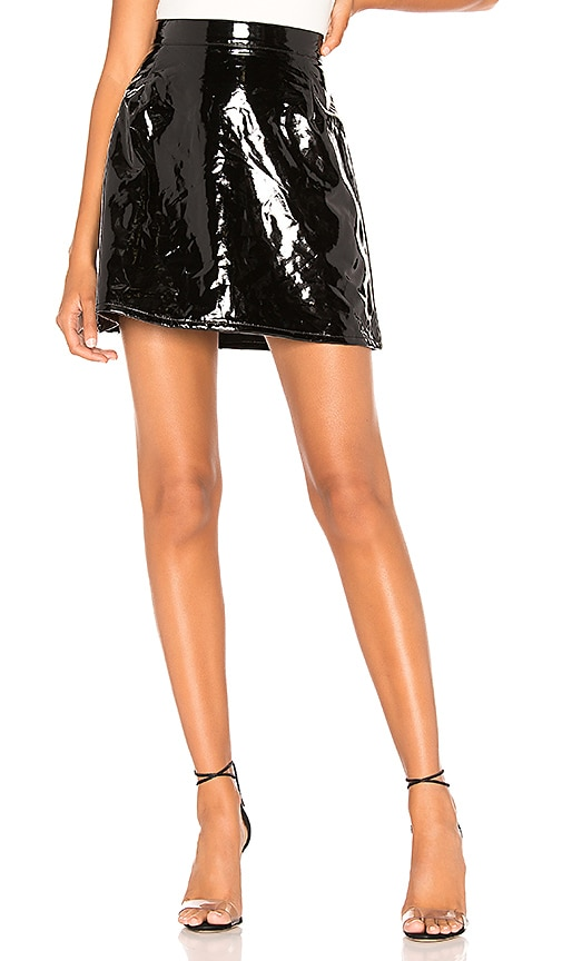 Lolo Faux Leather Skirt