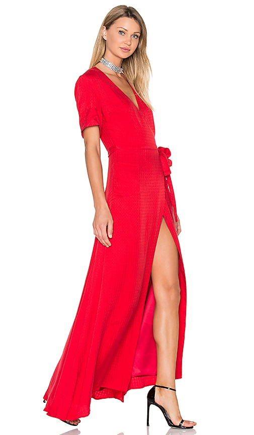 DREAM Blair Maxi Dress in Red