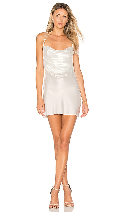 DREAM Bianca Mini Dress in White