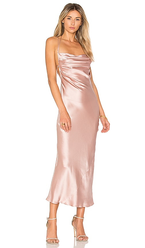 DREAM Bianca Maxi Dress in Rose