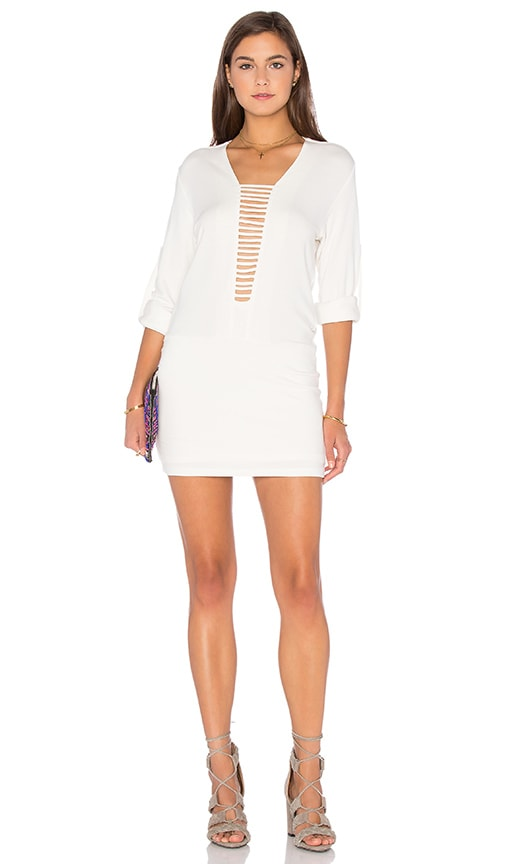 DREAM Viva Shift Dress in White