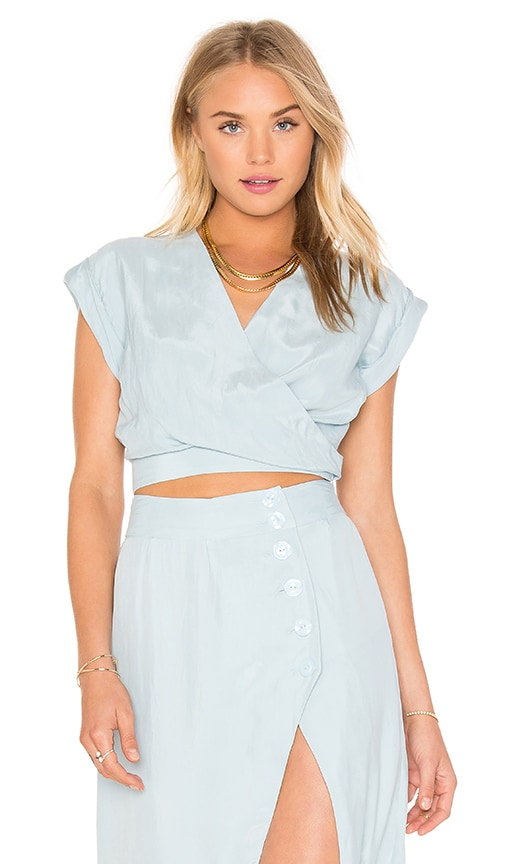 DREAM Coco Crop Top in Blue