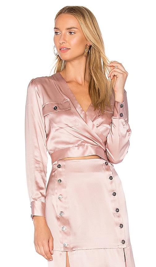 DREAM Nina Wrap Top in Pink