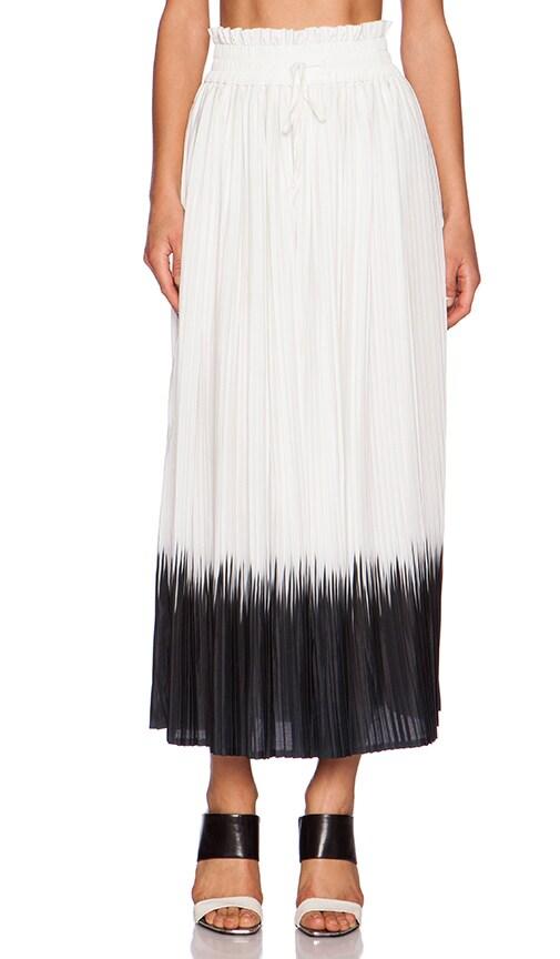 Dress Gallery Sunset Maxi Skirt in Ecru & Noir