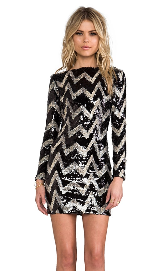 Lola Long Sleeve Mini Dress