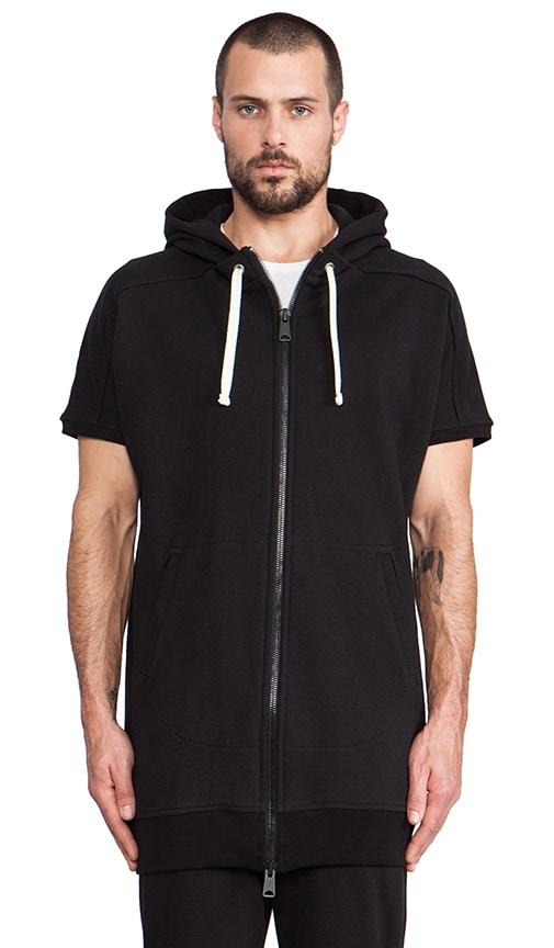 Magnus Short Sleeve Zip Hoodie
