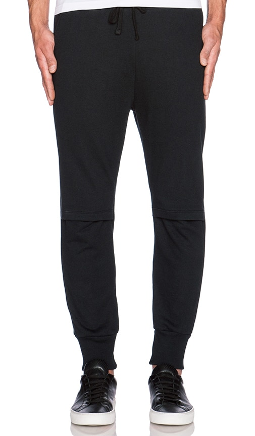 Drifter Cade Sweatpant in Black