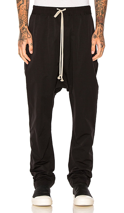 DRKSHDW by Rick Owens Long Pant in Black