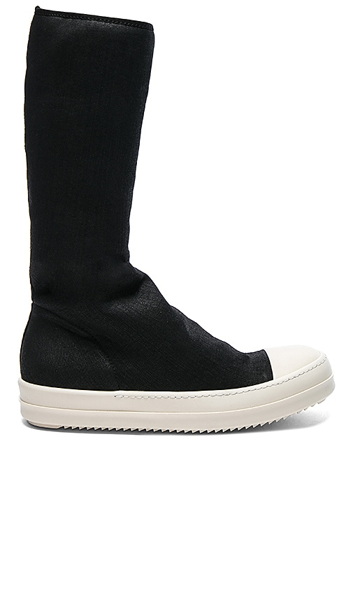 DRKSHDW by Rick Owens Scarpe Sock Sneakers in Black