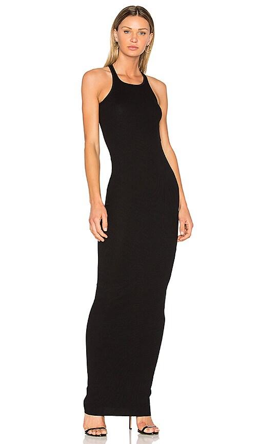 DRKSHDW by Rick Owens Rib Tank Maxi Dress in Black