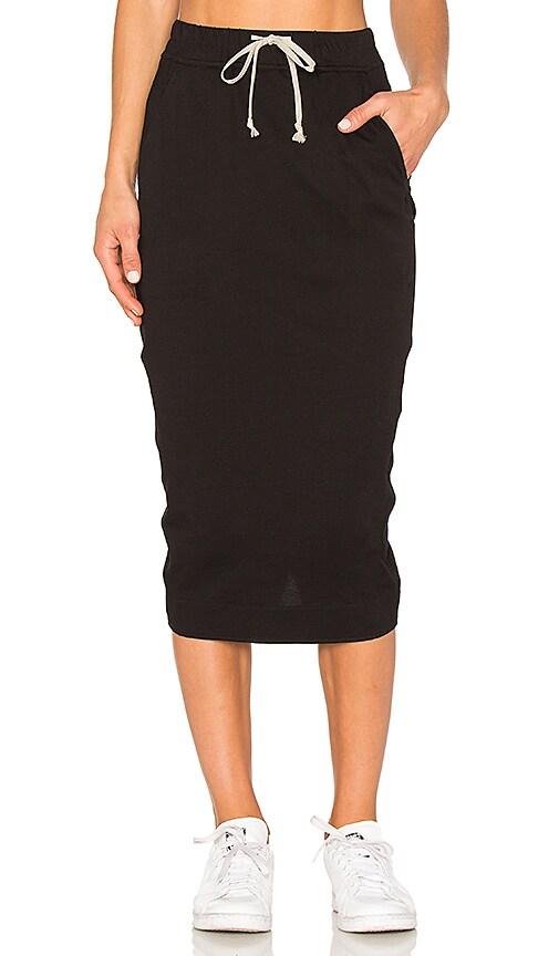 DRKSHDW by Rick Owens Soft Short Pillar Skirt in Black
