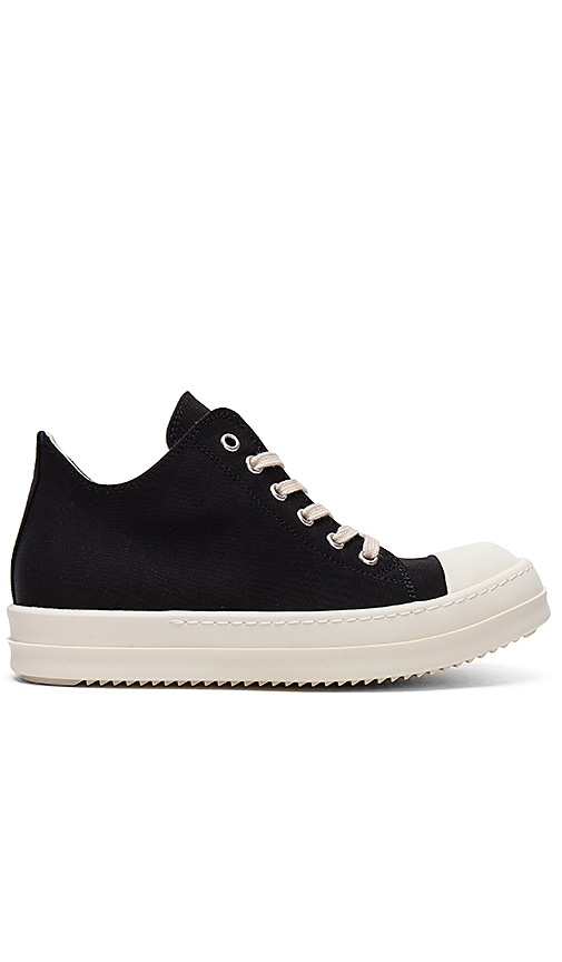 DRKSHDW by Rick Owens Low Sneakers in Black