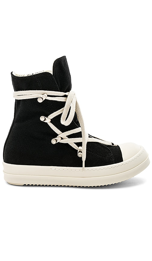 DRKSHDW by Rick Owens Hexagram Sneakers in Black