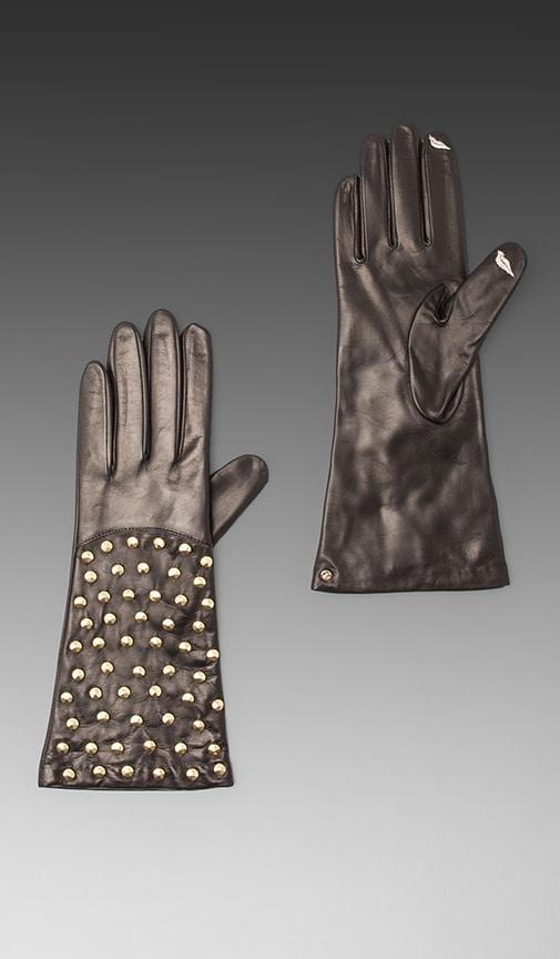 Round Pyramid Stud Glove