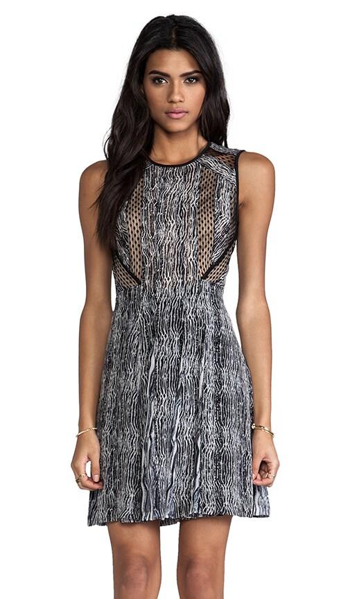Ida Textured Stripe Dress