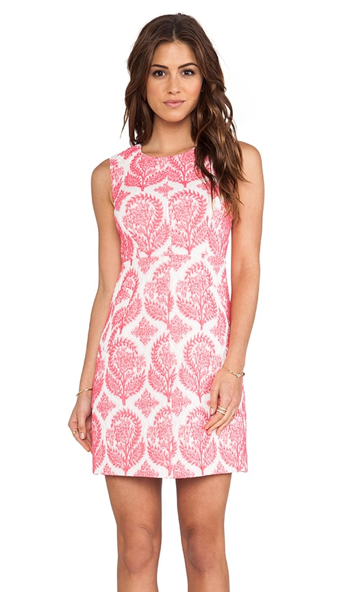 Carpreena Floral Stamp Dress