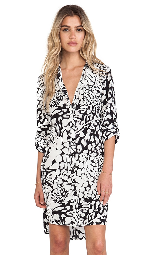 Prita Wrap Shirt Dress