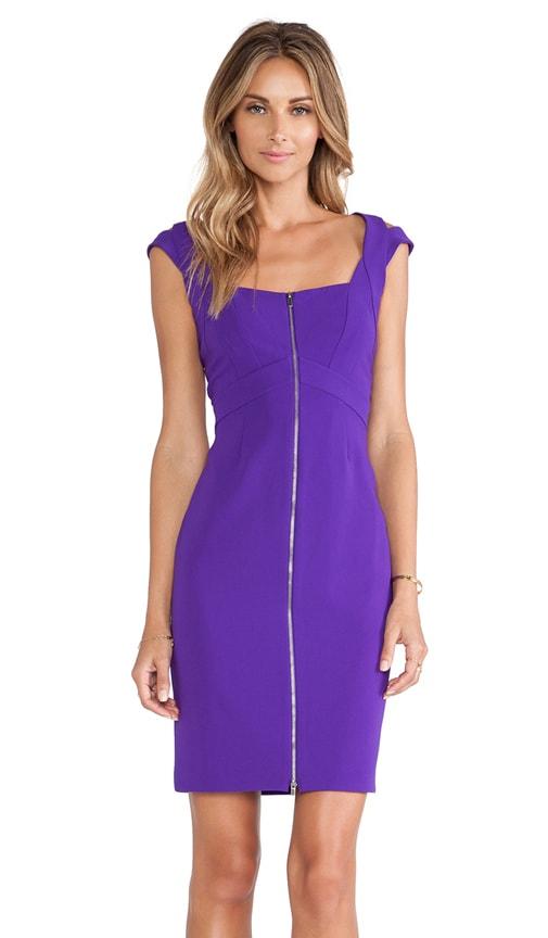 Corinne Zipper Front Dress
