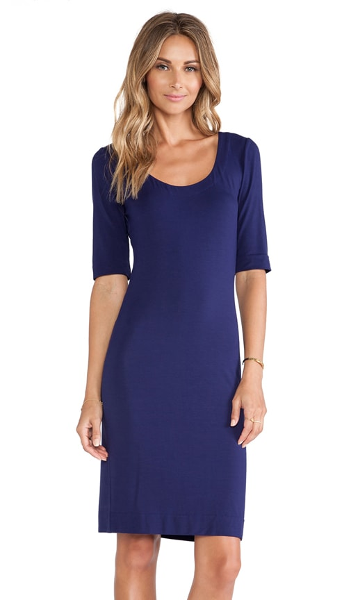 Raquel Scoop Neck Dress