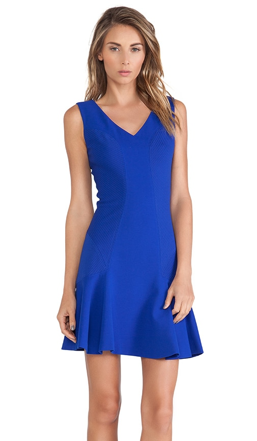 9481b25034 Diane von Furstenberg Carla Dress in Cosmic Cobalt