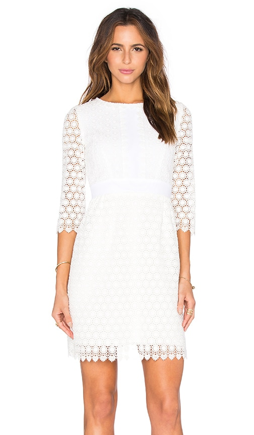 Diane von Furstenberg Nolly Dress in Ivory