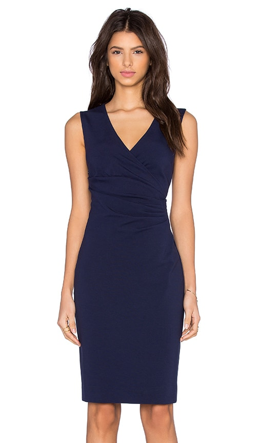 Diane von Furstenberg Layne Dress in Navy