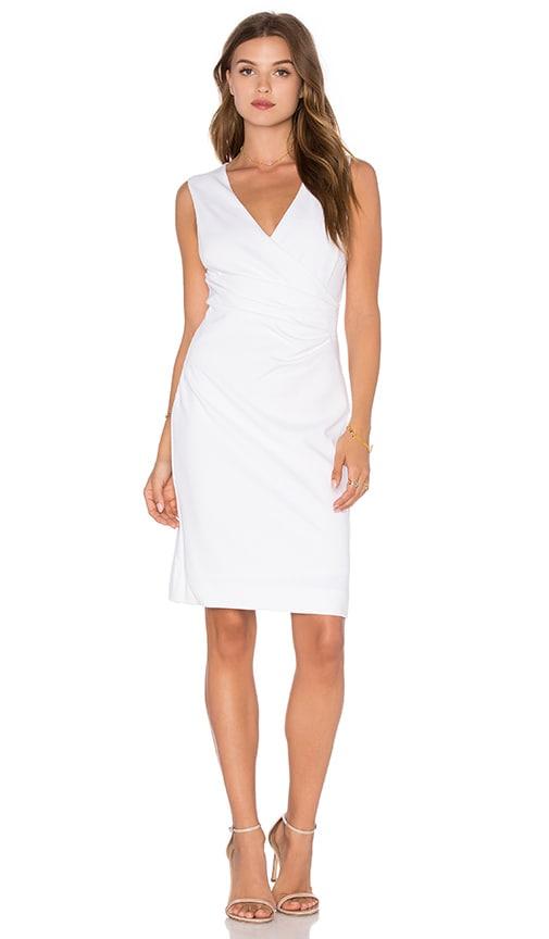 Diane von Furstenberg Layne Dress in White