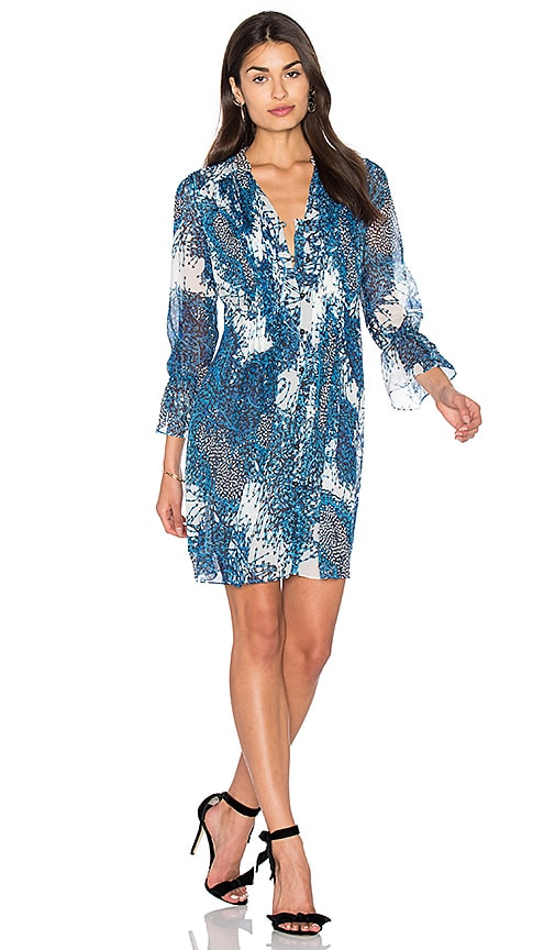 Diane von Furstenberg Kourtni Dress in Teal