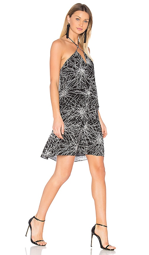 Diane von Furstenberg Serana Dress in Black & White