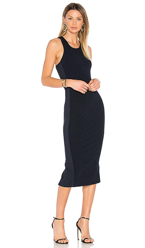 Diane von Furstenberg Teyla Dress in Navy