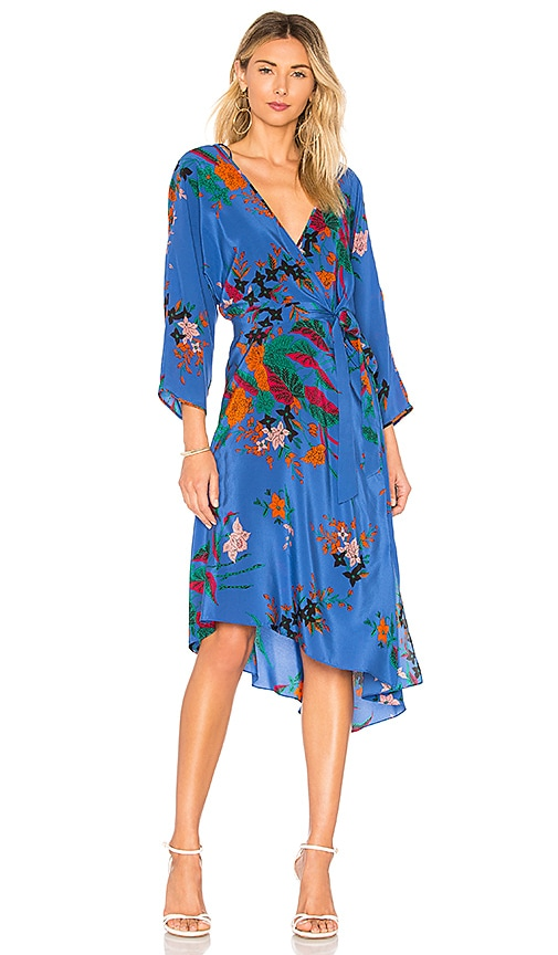 Diane von Furstenberg Mini Dress in Camden Cove | REVOLVE