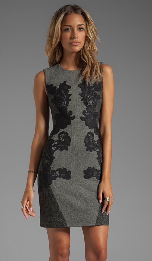 Pentra Mini Weave Jacquard Dress
