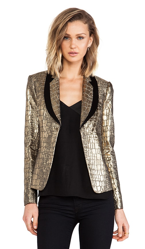 RUNWAY Ofelia Metallic Jacket