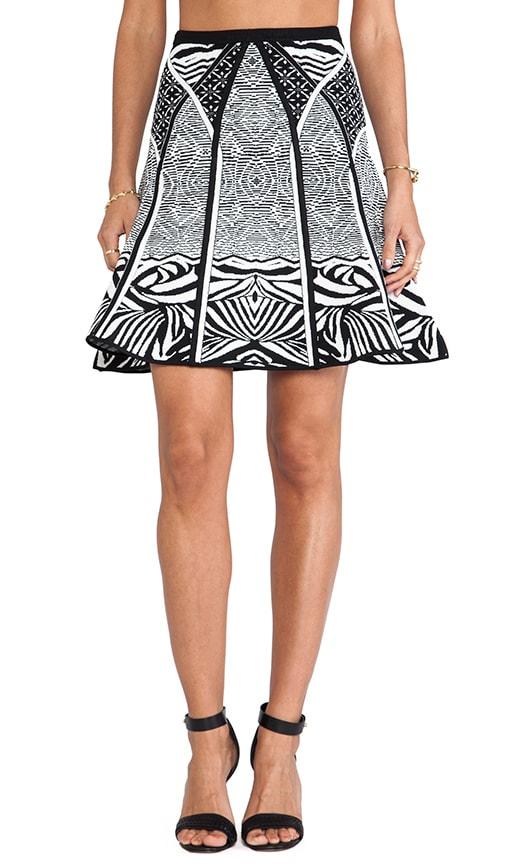 Samara Zebra Tattoo Skirt