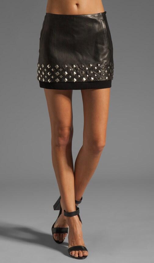 Elley Mini Stud Skirt