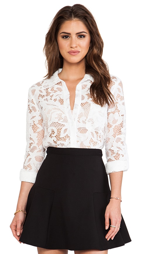 Lorelei Two Bloom Lace Top