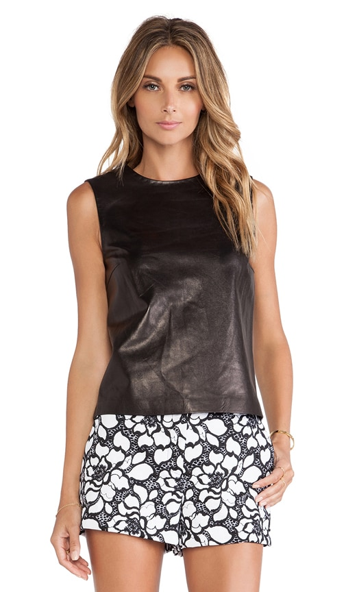 Betty Leather Tank