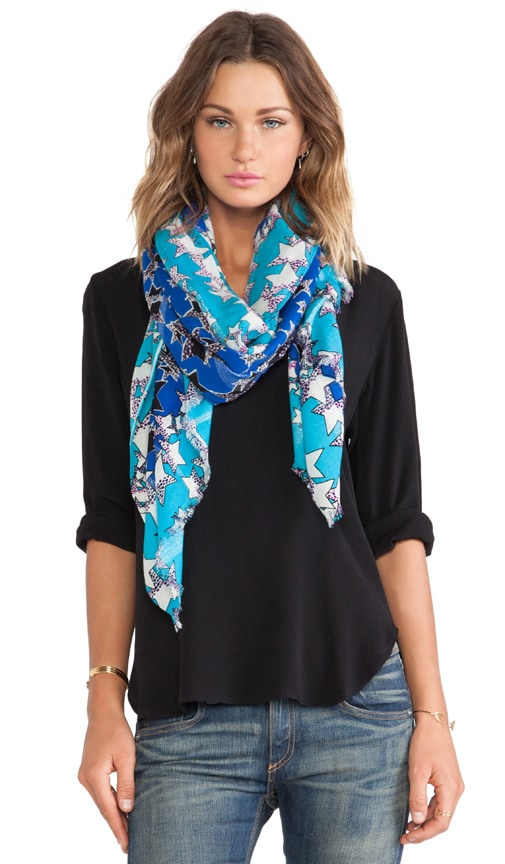 Lurex Wool Scarf